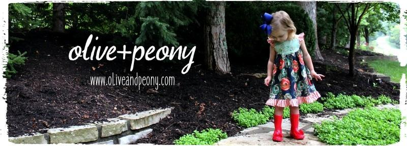 Shop Olive + Peony boutique children's clothing - girls' dresses, skirts, tops and more