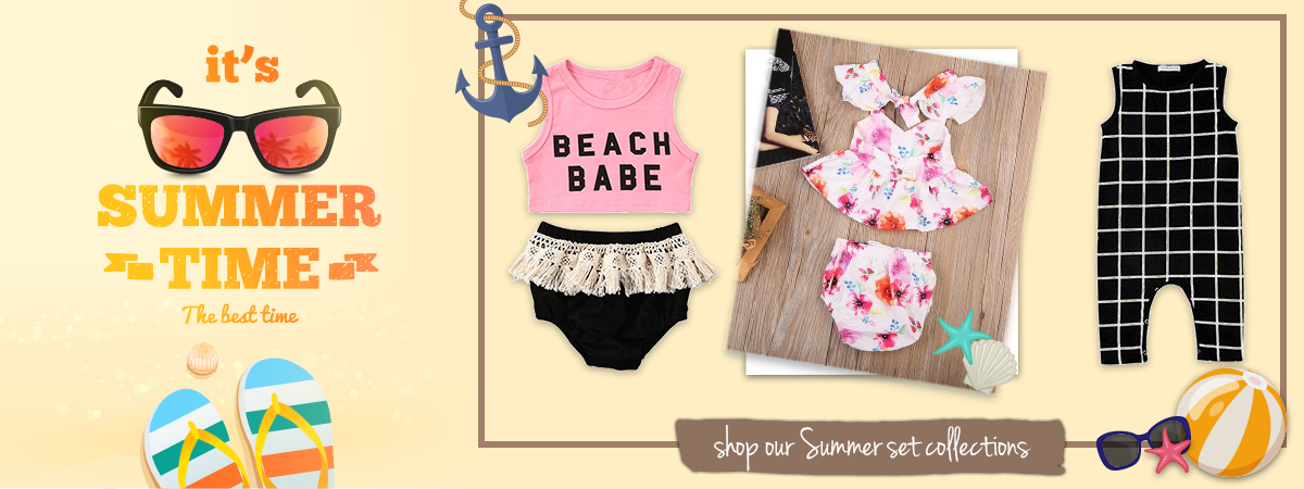 Summer outfits for children