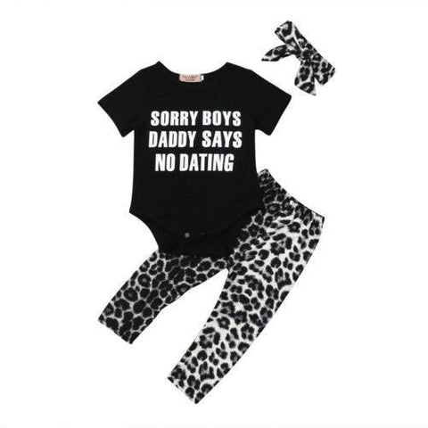 Petite Bello 0-6 Months Sorry Boys Clothing Set