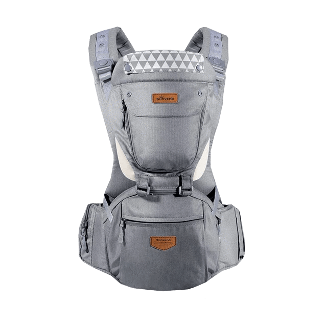 Petite Bello Bag Gray Ergonomic Baby Carrier