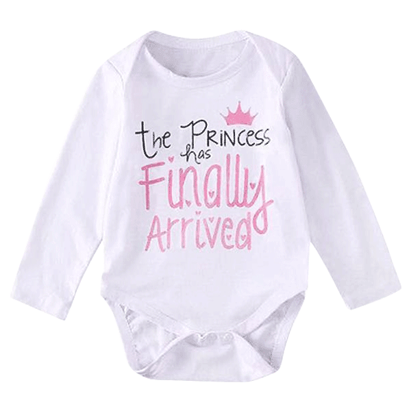 Petite Bello Bodysuit 0-3 months The Princess Has Finally Arrived Bodysuit