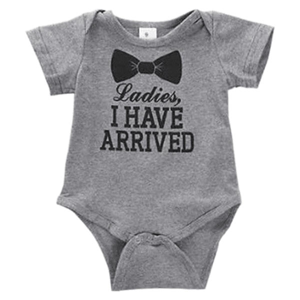 Petite Bello Bodysuit 6-9 Months I Have Arrived Bodysuit