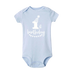 Petite Bello Bodysuit Blue white / 2-3T 1st Birthday Bodysuit