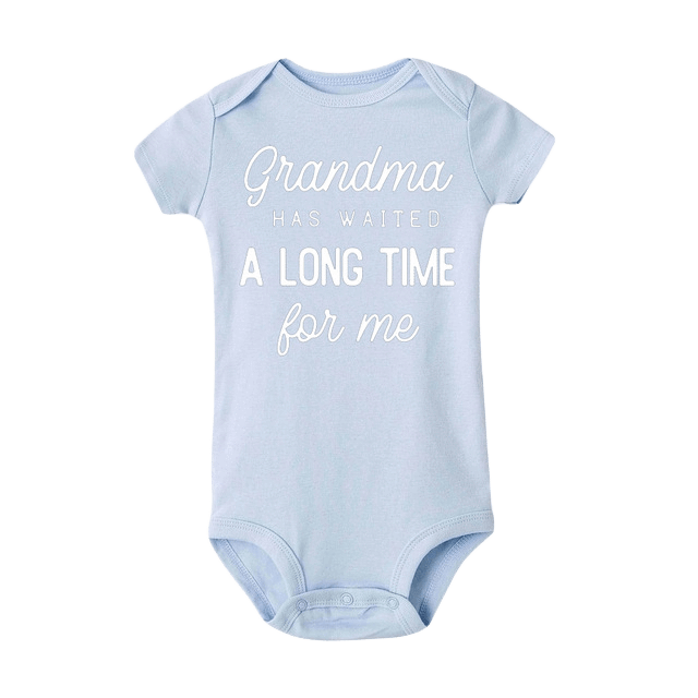 Petite Bello Bodysuit Blue white / 3-4T A Long Time Bodysuit