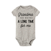 Petite Bello Bodysuit Grey black / 18-24 Months A Long Time Bodysuit