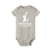 Petite Bello Bodysuit Grey white / 12-18 Months 1st Birthday Bodysuit