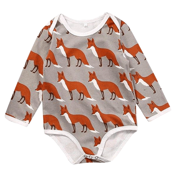 Petite Bello Bodysuit Khaki / 0-6 Months I love My Animals Bodysuit