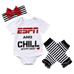 Petite Bello Bodysuit set 0-6 Months ESPN Daddy Bodysuit Set