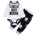 Petite Bello Bodysuit set 0-6 months No Time For Sleep Bodysuit Set