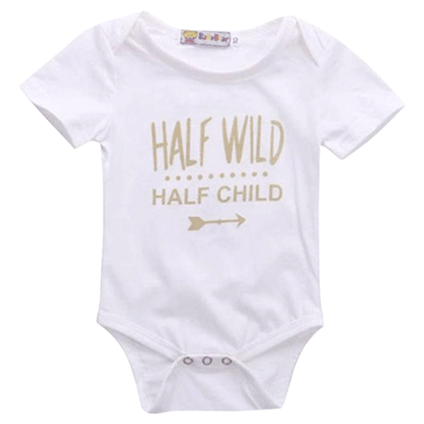 Petite Bello Bodysuit White / 3-6 Months Half Wild Half Child Bodysuit