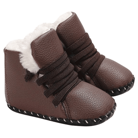 Petite Bello booties Brown / 0-6 Months Trendy Snow Booties
