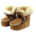 Petite Bello booties Khaki / 18-24 Months Winter Sheepskin Boots