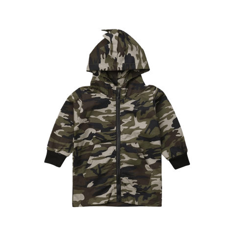 Petite Bello Camouflage 3-4T Camouflage Hooded Jacket