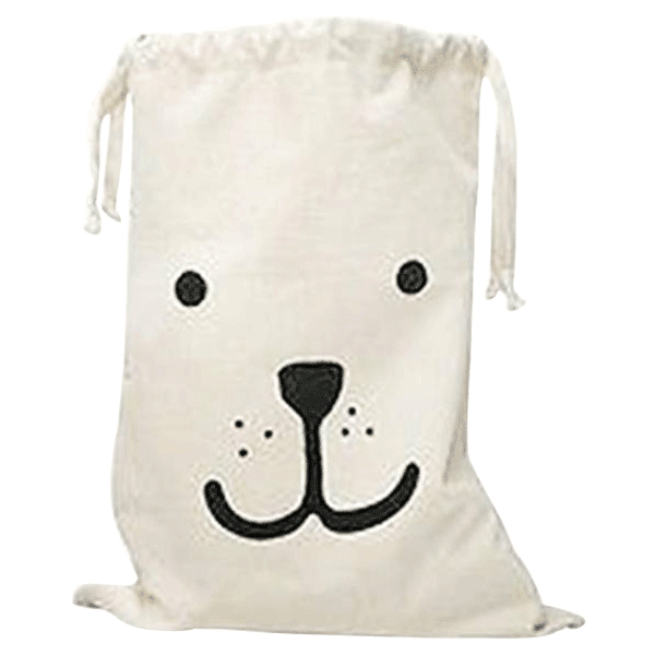 Petite Bello canvas bag Bear smile Kids Canvas Bags