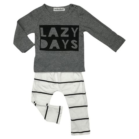 Petite Bello Clothing Set 0-3 Months Lazy Days Clothing Set
