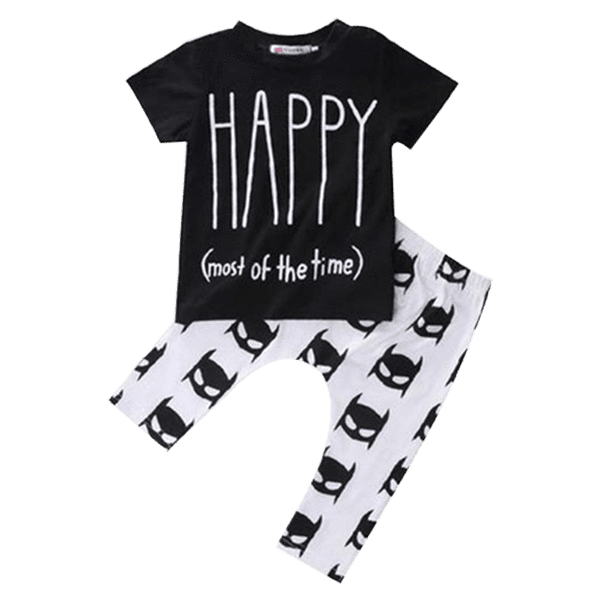 Petite Bello Clothing Set 0-6 Months Baby Happy Clothing Set