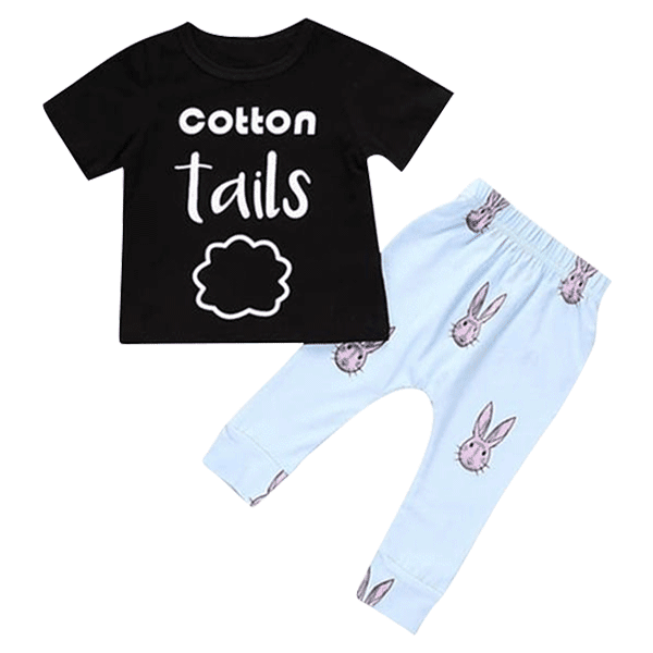 Petite Bello Clothing Set 0-6 Months Cotton Tails Clothing Set