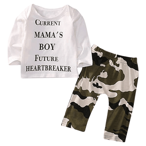 Petite Bello Clothing set 0-6 months Future Heartbreaker Clothing Set