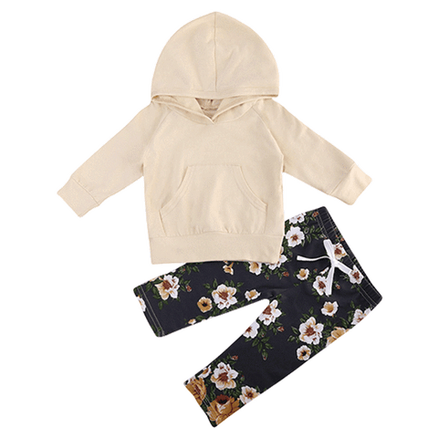 Petite Bello Clothing Set 0-6 Months Lila Floral Clothing Set