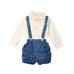 Petite Bello Clothing Set 18-24 Months Bowknot Ruffles Clothing Set