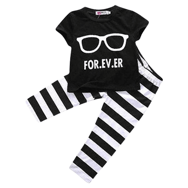 Petite Bello Clothing Set 18-24 months Glasses Forever Clothing Set