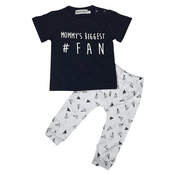 Petite Bello Clothing Set 18-24 months Mommy's Biggest Fan Clothing Set