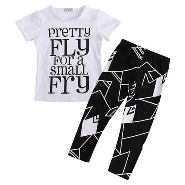 Petite Bello Clothing Set 2T Pretty Fly Clothing Set