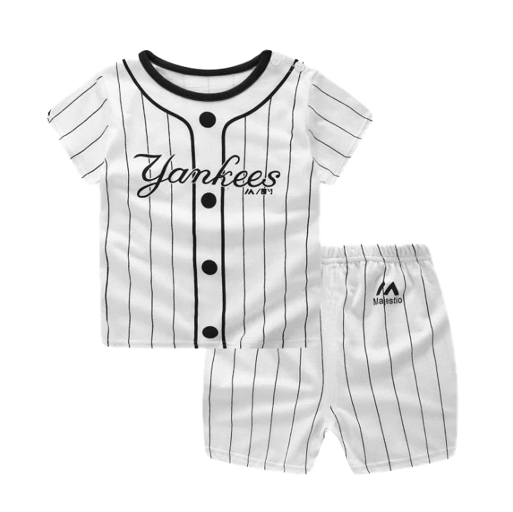 Petite Bello Clothing Set 9-12 Months Yankees Clothing Set