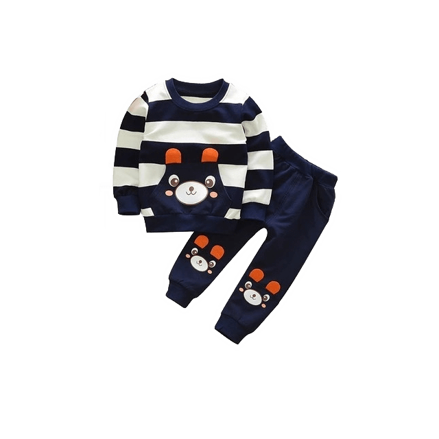 Bear Stripes Clothing Set