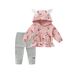 Petite Bello Clothing Set Pink / 4-5T Ears & Cherries Clothing Set