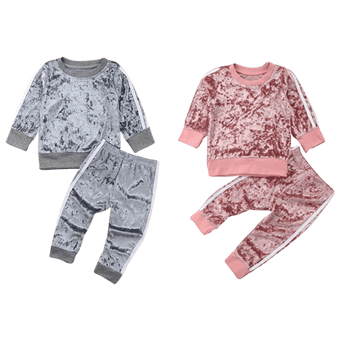 Petite Bello Clothing Set Winter Velvet Clothing Set