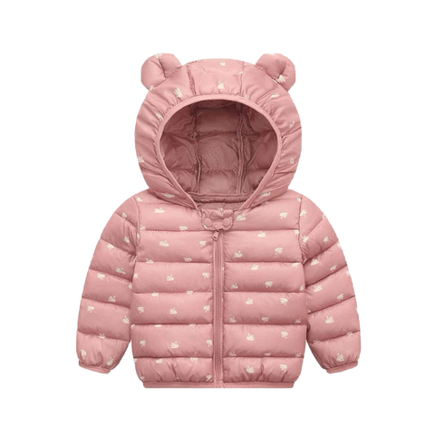 Petite Bello Coat Pink / 18-24 Months Snow Hooded Coat