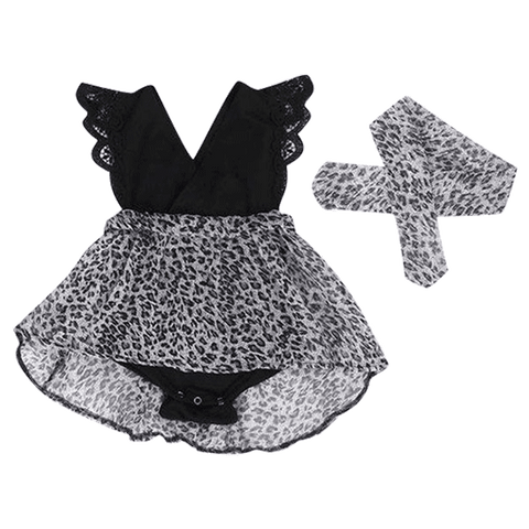 Petite Bello Dress 0-6 months Lace Tutu Dress