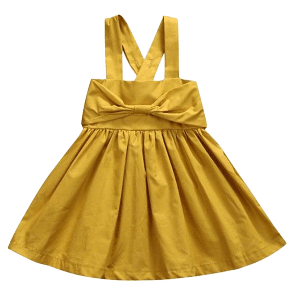 Petite Bello Dress 0-6 Months Sunflower Dress