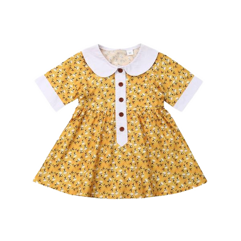 Petite Bello Dress 1-2T Diana Floral Dress