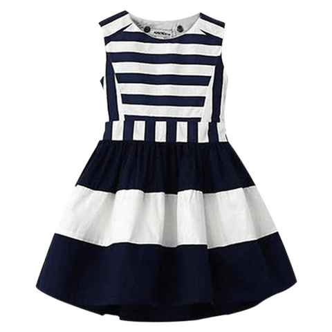 Petite Bello Dress 3T Girl Navy Dress