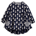 Petite Bello dress Navy Blue / 2T Bunny Pocket Dress