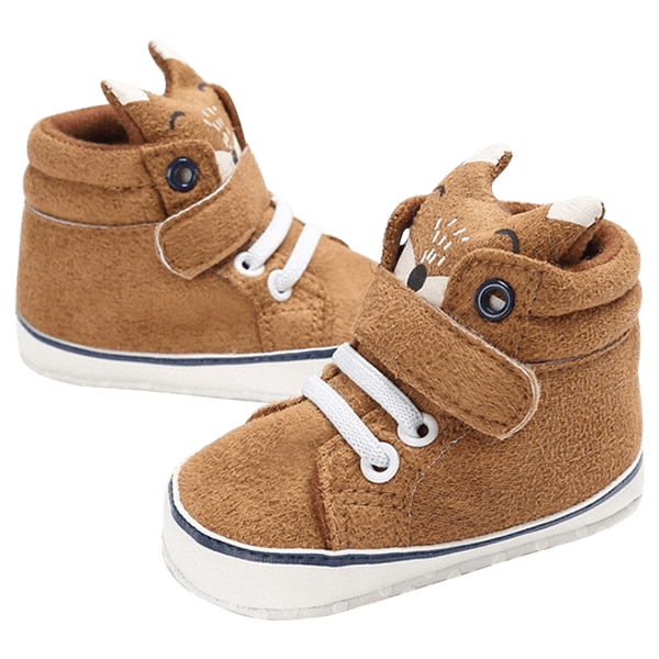 Petite Bello Footwear Brown / 12-18 Months Baby Fox Shoes