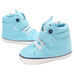 Petite Bello Footwear Sky Blue / 12-18 Months Baby Fox Shoes