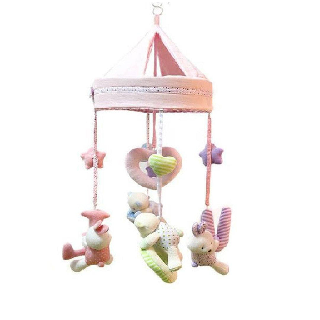Petite Bello Hanging Toys Bears Musical Mobile
