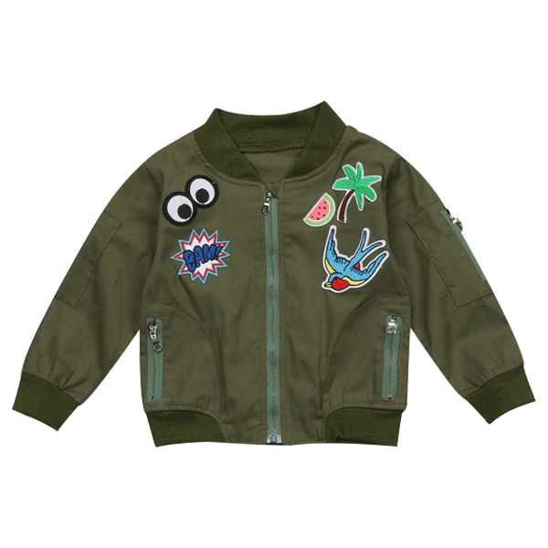 Petite Bello Jacket 2-3T Cool Green Jacket
