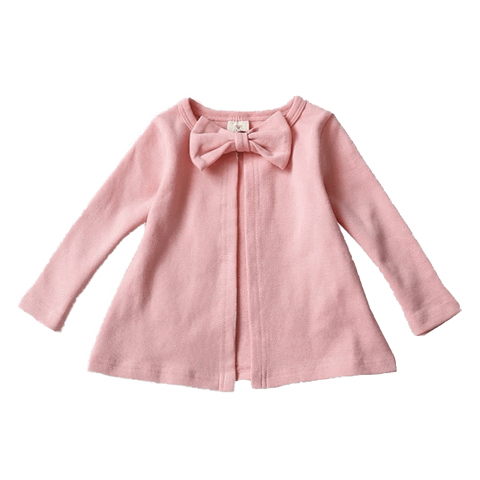 Petite Bello Jacket Pink / 2-3T Knitted Round Cardigan Jacket