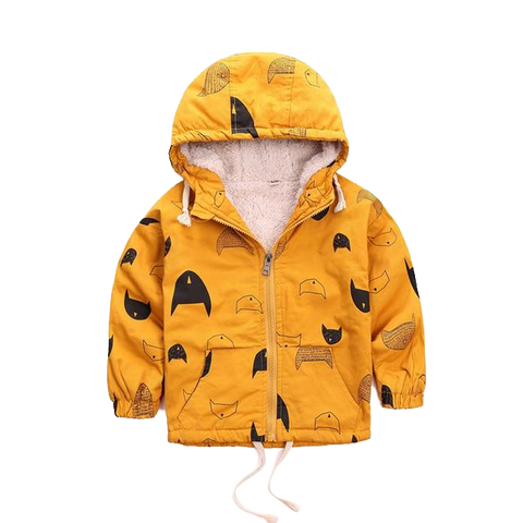 Petite Bello Jacket Yellow / 9-12 Months Jacket Hooded Boys Coat