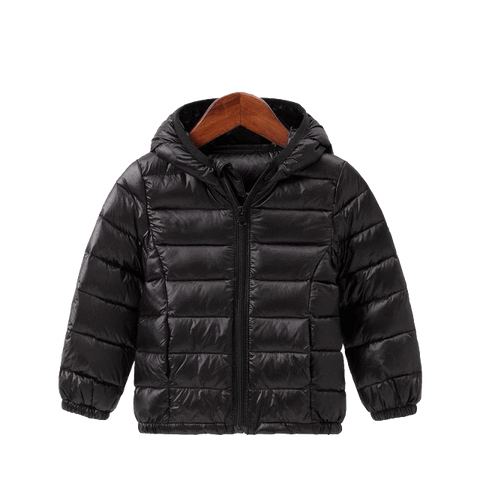Petite Bello jackets & outerwear Black / 2T Kids Winter Hooded Jacket