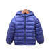 Petite Bello jackets & outerwear Violet / 5T Kids Winter Hooded Jacket