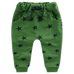 Petite Bello pants boys green / 2T Star Pattern Pants