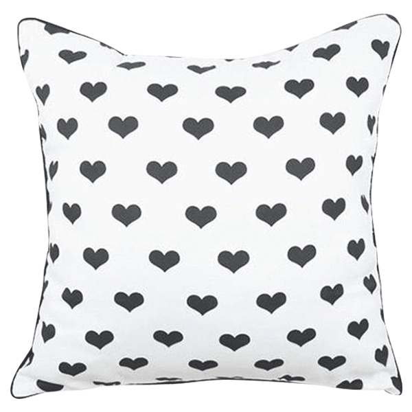 Petite Bello pillow Hearts Pillow Cover