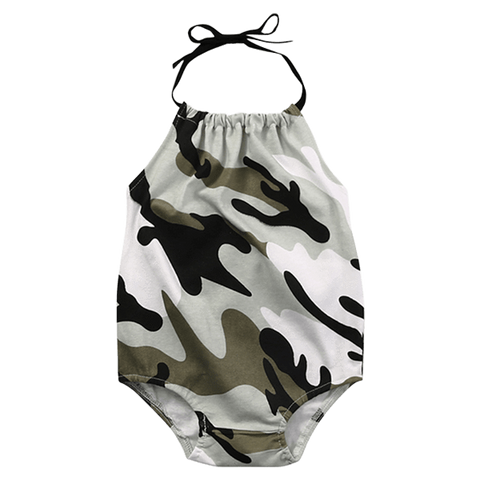 Petite Bello Playsuit 0-6 Months Camouflage Playsuit