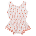 Petite Bello Playsuit 0-6 Months Flamingo Playsuit