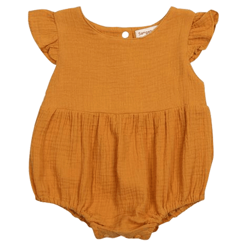 Petite Bello Playsuit 0-6 Months Joyce Ruffle Playsuit